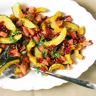 Rosemary + Za'atar Squash Roast w/ Grapefruit Pomegranate Salsa