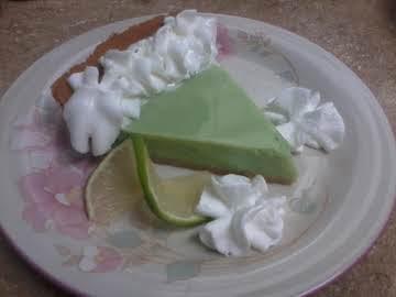 Cool Key Lime Pie