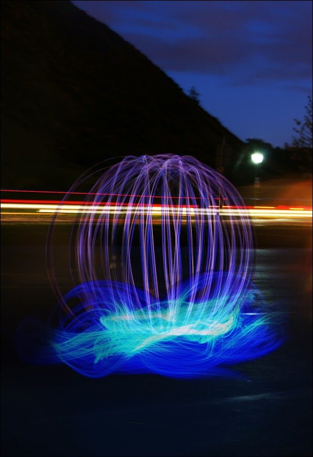 by Robyn Dodds - Abstract Light Painting