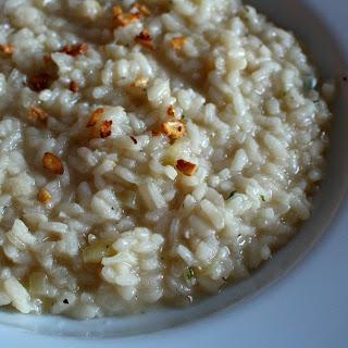 Three Garlic Risotto