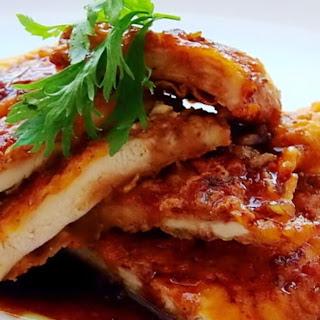 Wonderful Crispy Chicken with Honey Sauce