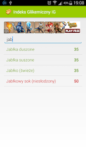 Indeks Glikemiczny IG- screenshot thumbnail
