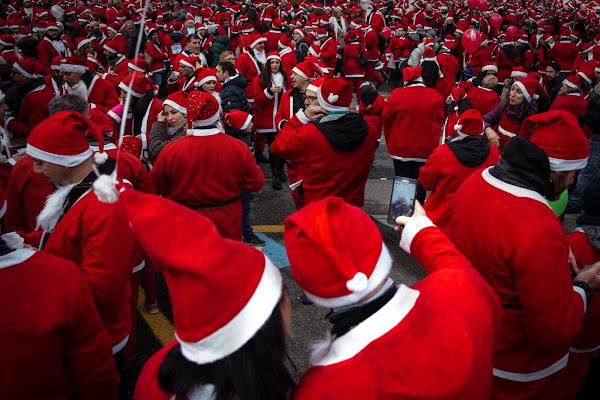 Da Babbo Natale per beneficenza di versil