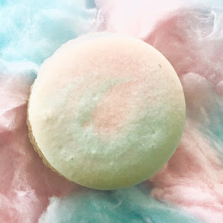 Cotton Candy French Macarons Recipe