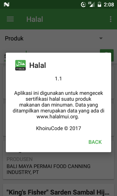 Halal- screenshot