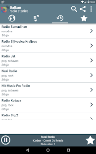 Balkan Radio Stanice- screenshot thumbnail