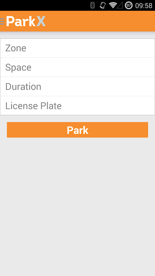 ParkX - screenshot