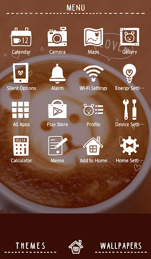 Cute Wallpaper Bear Coffee 1.0.1 Windows u7528 2