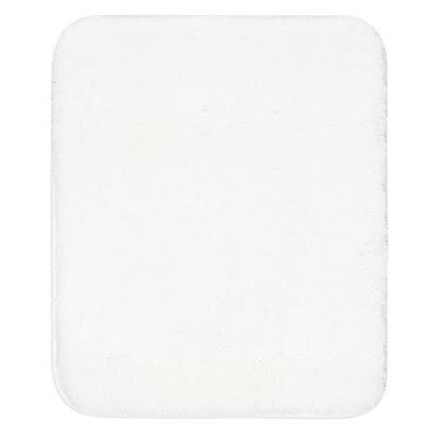 Коврик для туалета Grund Melange белый 50х60 см