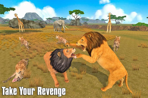 The Lion Simulator: Animal Family Game 1.0 screenshots 4