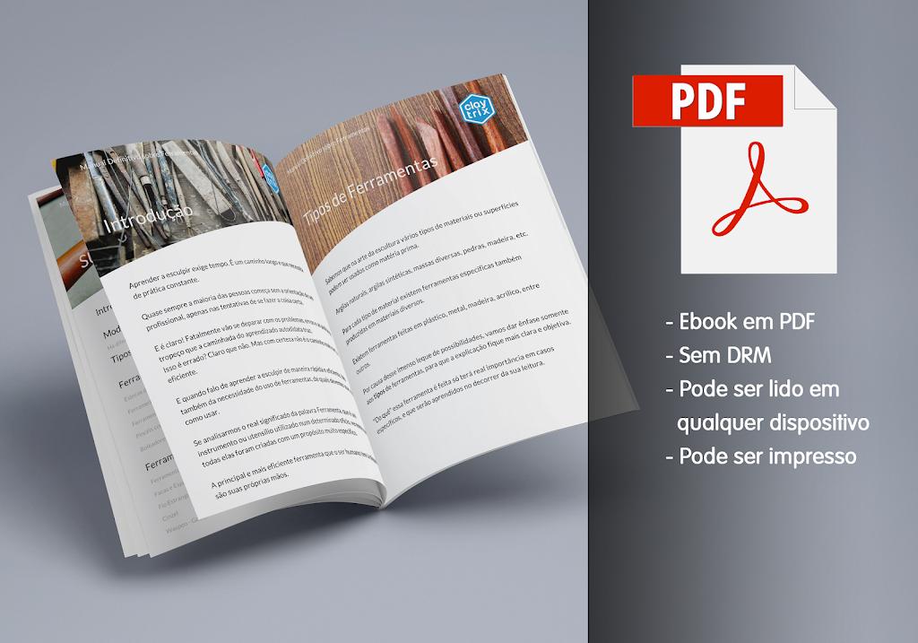 Ebook Ferramentas de Escultura e Modelagem - Manual Definitivo