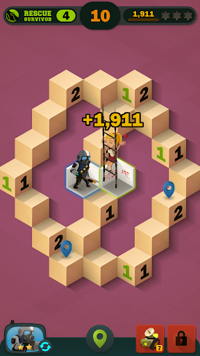 Zombie Sweeper: Minesweeper Action Puzzle 1.1.015 screenshots 6