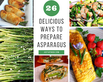 26 Delicious Ways To Prepare Asparagus Recipe