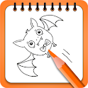 Free Halloween Coloring Book icon