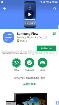 Samsung Flow, guida installazione e configurazione