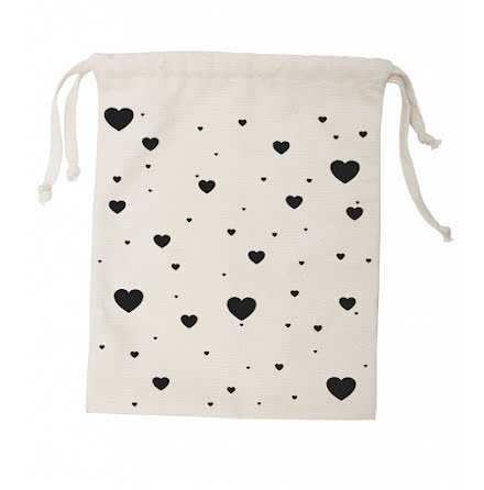 Tellkiddo Fabric Bag Heart Small