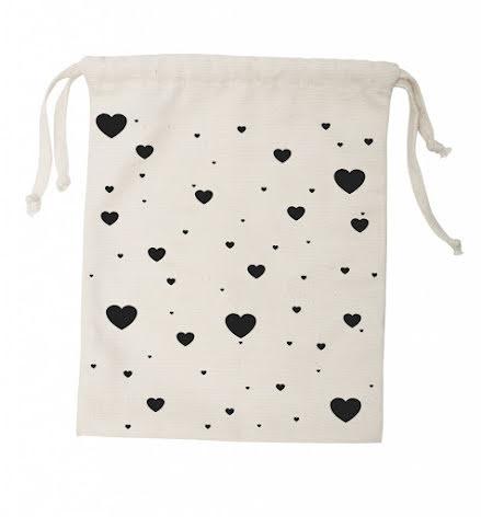 Tellkiddo Fabric Bag Heart Small