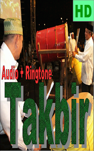 Takbir Lebaran Idul Fitri - náhled