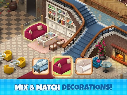 ApkMod1.Com Manor Cafe + (Mod Money) for Android Game Puzzle