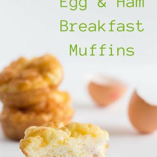 Egg & Ham Breakfast Muffins.