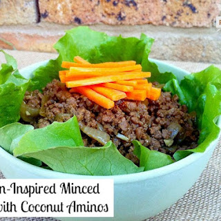 Asian Inspired Minced Beef with Coconut Aminos Recipe