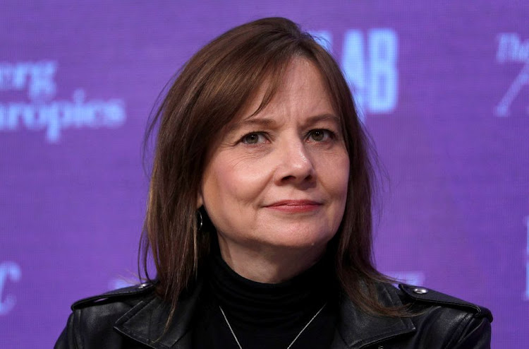 GM CEO Mary Barra addresses Global City Summit In Detroit, US, October 29 2018. Picture: BILL PUGLIANO/GETTY IMAGES