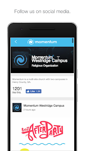 Momentum Christian Church- screenshot thumbnail