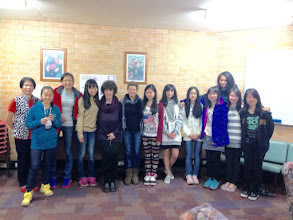 Photo: Day 13: Farewell at the Girls' Dorm