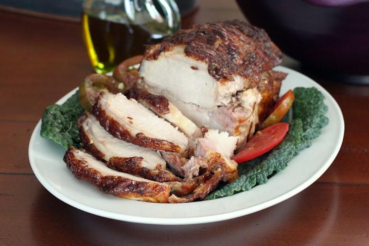 Honey Glazed Pork Loin Roast Recipe