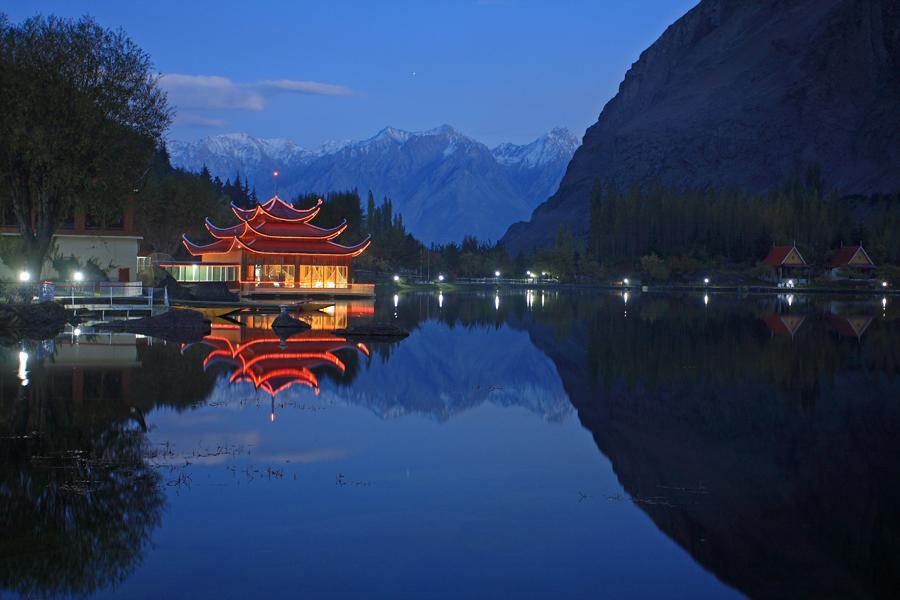 Shangrila by Yasir Nisar - Landscapes Travel ( yasir nisar, pakistan, mountains, night view, shangrila, yasir nisar photography, maxloxton, skardu, lower kachura lake )