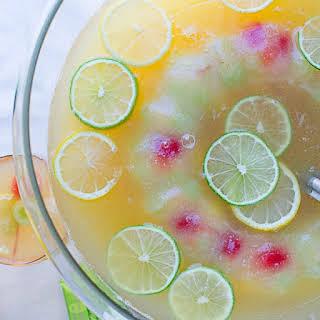 Pineapple Green Tea Punch.