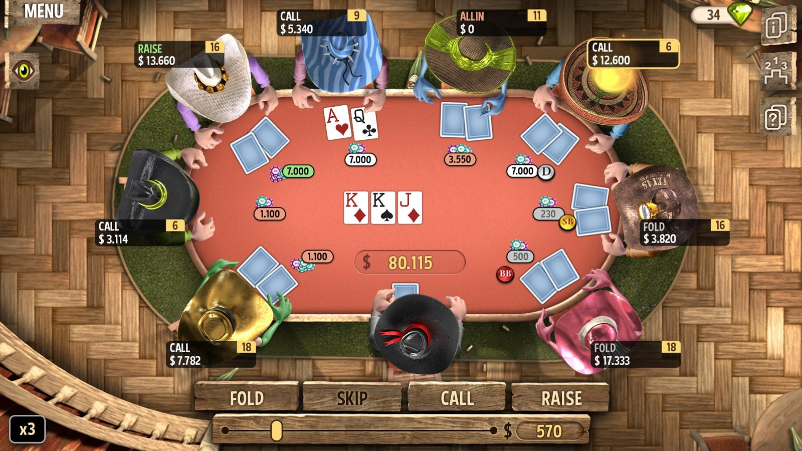 Govener Of Poker 2