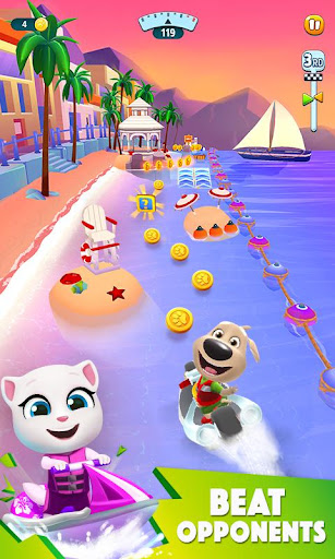 Download Talking Tom Jetski 2 MOD APK 2