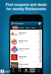 Restaurant Coupons & Deals- screenshot thumbnail
