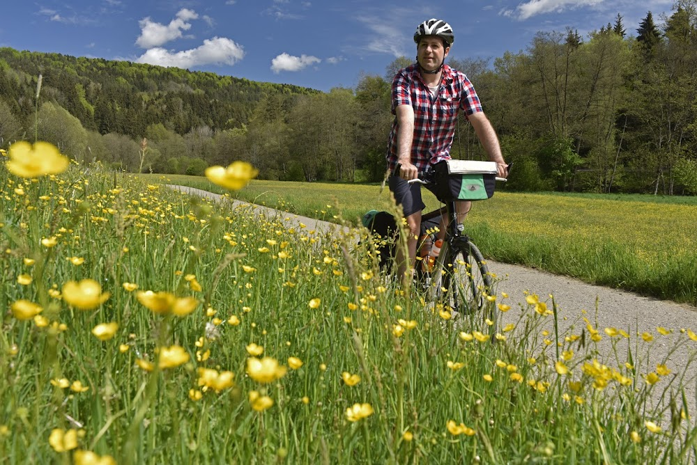 Nagold valley cycling route