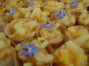 Photo: barquette ananas au gingembre et caramel