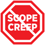 Stop Scope Creep Stopsign