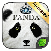 Panda GO Keyboard Animated Theme