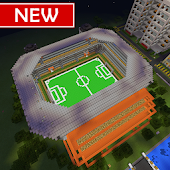 Soccer Stadium MCPE map