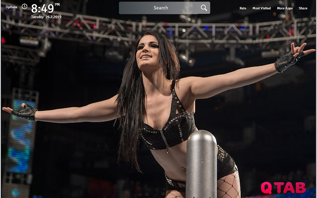 Wallpapers Theme Wrestling New Tab