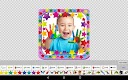 screenshot of Baby photo frames maker