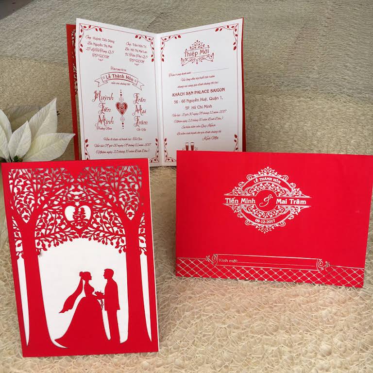 Thiệp cưới Tiến Minh