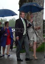 Photo: Duchess Anna in Bavaria and Klaus Runow behind them Duchess Helene in Bavaria