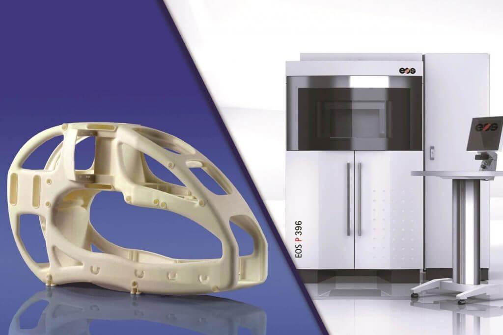 Лучший промышленный 3D-принтер: EOS P 396