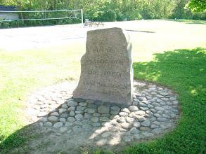 Photo: Mindesten for anlægets givere i Egelund