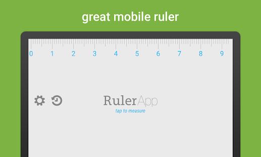 Ruler App – Measure length in inches + centimeters Screenshot