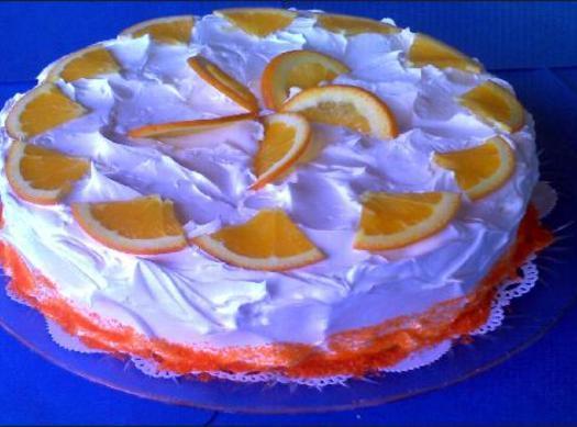 Orange Creamsicle Cake (from Scratch) Recipe