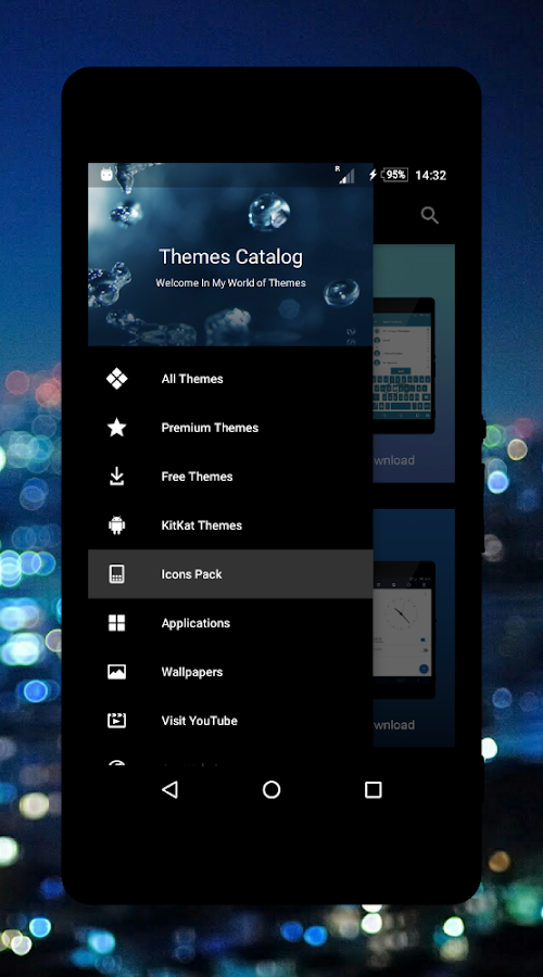 Themes Catalog- screenshot