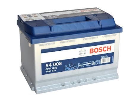 Bosch 12V 74Ah S4008 - Startbatteri