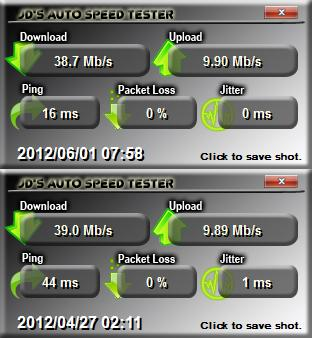 Photo: Improved Broadband Ping. Happy with this.